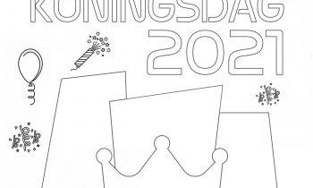 SKV Kleurplaat koningsdag