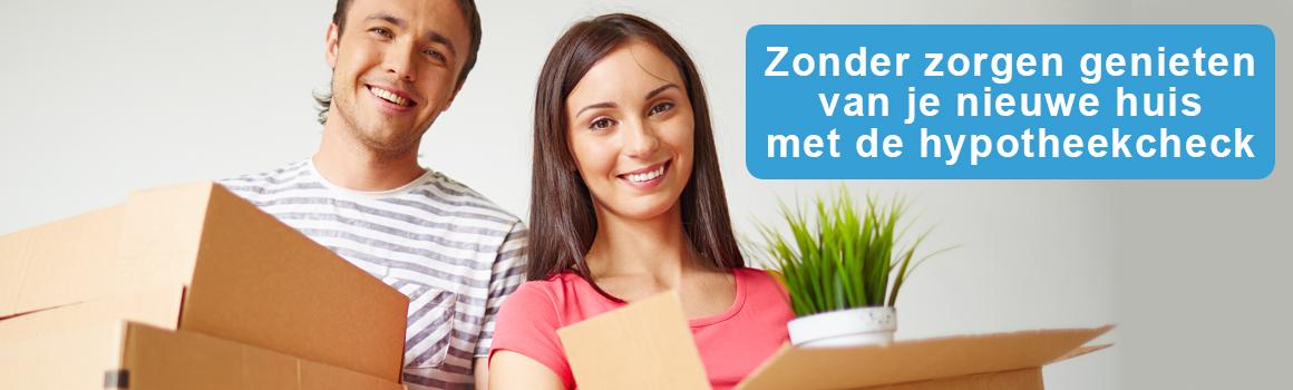 hypotheekcheck snijders & van der Kooi